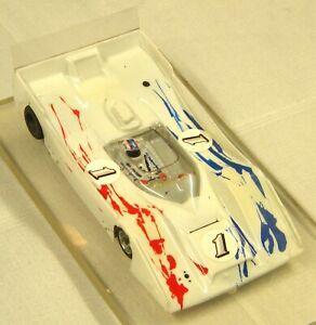 Slot Car 1/24 Retro Can Am. Jersey John Chassis - JK Retro Motor.