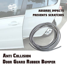 15FT 3M Backing Rubber Flexible Door Edge Guard Scratch Paint Protection SILVER