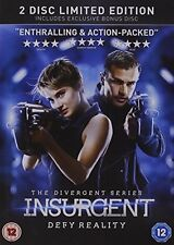 Insurgent - 2 Disc Limited Edition (Exclusive to Amazon.co.uk) [DVD] [2015] B.
