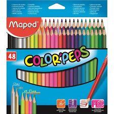 48 Maped Colour Pencils Set Color Peps 48 Assorted Shades