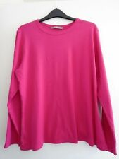 Marks and Spencer Dark  Pink Long Sleeve Top Size 20