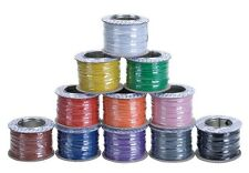 More details for model railway layout/point motor wire - any 4 x 100m rolls deal 7/0.2mm 1.4a t48