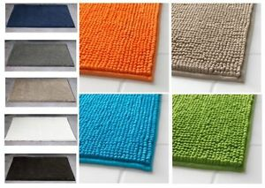 Large IKEA TOFTBO Bath Mats Soft Absorbent,Quick Dry,Microfiber Safety Useful