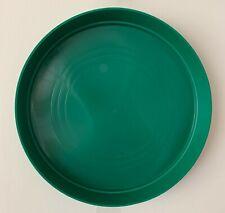 Green Round Plastic Plant Pot Saucer Heavy Duty 32cm/320mm Quantity: x30