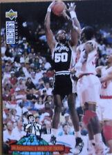David Robinson San Antonio Spurs NBA Trading Card Dr Basketballs World of Trivia