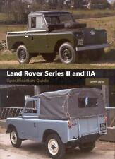 Land Rover Series 2 2A Specification Guide (Serie S. II II A 88 109) Buch book