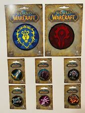 (WoW) World of Warcraft Collector's Patch and Pins