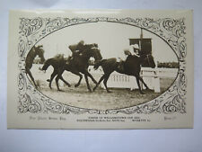 POSTCARD FINISH of WILLIAMSTOWN CUP 1923 with WYNETTE WINNER DON PHOTO SERIES