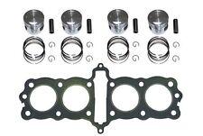 Honda CB500K CB500F 553cc Bigbore Pistons Kit 59mm  W/ Head Gasket CI-CB500KBB