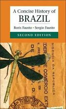 A Concise History of Brazil (Cambridge Concise Histories), Good Condition Book,