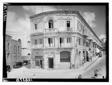 1920 Hotel Allenby Hotel Fast ~JERUSALEM~ Scarce Pre ISRAEL Luggage Label c