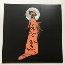 KAREN ELSON - THE GHOST WHO WALKS  HAND SIGNED RECORD AUTOGRAPHED