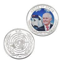 WR Prime Minister of Australia Malcolm Turnbull Silver Commemorative Coin Medal