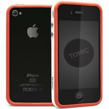 Cygnett Tonic iPhone 4S & 4 Sports Flexible Frame Bumper Case/Cover/Skin Red