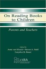 On Reading Books to Children: Parents and Teachers, , Good Book