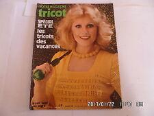 VOTRE MAGAZINE TRICOT N°169 MAI 1975 SPECIAL ETE     K20