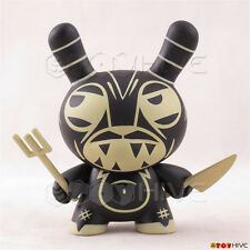 Kidrobot Dunny 2009 Endangered series vinyl figure Lava Demon by Joe Ledbetter