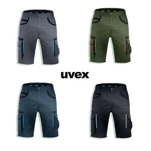 uvex tune-up Kurze Arbeitshose für Herren - Arbeits-Bermudas mit Werkzeugtaschen