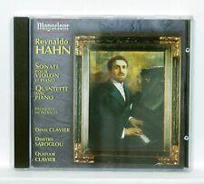 DENIS CLAVIER, DIMITRIS SAROGLOU - HAHN violin & piano sonatas MAGUELONE CD NM