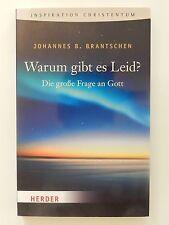 Johannes Brantschen Warum gibt es Leid Die große Frage an Gott Christentum Buch