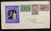 1939 Canada  First Day Cover FDC To Australia King George VI Royal Visit