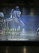 84 & 87 Seattle Seahawks at Denver Broncos dvd