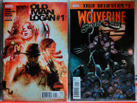 OLD MAN LOGAN (2015) #1 + BONUS! WOLVERINE #1 Sword Quest SECRET WARS Marvel