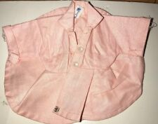 Doll Clothing Tiny Terri Lee Pink Duster Coat 1950s Tagged