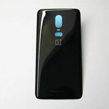 Back Glass Door Battery Cover Housing Replace For OnePlus 6/1+6 Black
