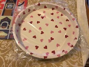 Emma Bridgewater Pink Hearts  pattern Tray,30cms diameter