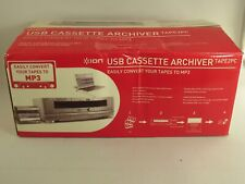 ION USB Cassette Archiver Tape2PC New in open Box