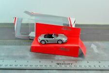 Schuco 452011100 Porsche Boxster S 981 Silver Diecast Metal 1/64 Scale