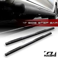 "For 2004-2008 Ford F150 Supercrew Cab 4"" Matte Black Side Step Nerf Bars Boards"