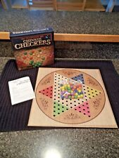 "Traditions Cardinal Games Chinese Checkers  w/ 13""  Foldable Board  NIB"