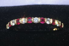 TIFFANY & CO. Diamond and Ruby Band in 18K Yellow Gold (Size 5 3/4+)