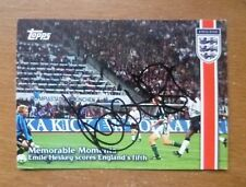 Emile Heskey, Signed Topps (Memorable Moments) Card.