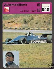 KEN TYRRELL Jean-Pierre Jarier Race Car 1979 FRANCE SPORTSCASTER CARD 101-21