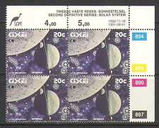 Ciskei 1992 SPACE/Planets 20c control blk rprt (n20157)