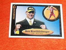 BEN ROETHLISBERGER  (PITTSBURGH STEELERS-QB) 2004 ink rookie card mint condition