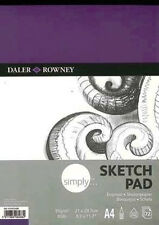Daler Rowney Simply Sketch Pad - A4