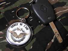 Porte clés - ARMEE DE L'AIR - Brevet PILOTE - rafale mirage Transall Hercules