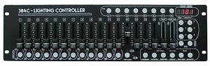 EL154069 E-Lektron C-384C DMX controller lighting control desk 24x16 channels