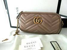 Gucci Marmont Matelasse Mini Leathe
