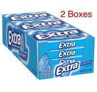 WRIGLEY'S EXTRA PEPPERMINT Sugar Free Gum 24-(15) Stick Packs= 360 Sticks FRESH