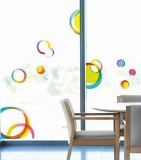 Fenstersticker XXL bunte kreise Home Sticker Aufkleber abstrakte Muster