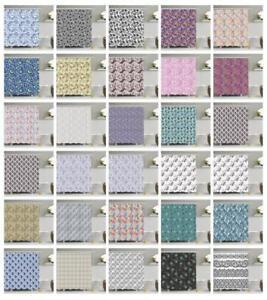 Eastern Paisley Shower Curtain Fabric Bathroom Decor Set with Hooks 4 Sizes
