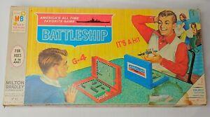 Vintage Milton Bradley Battleship Game with Box