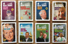 The first 8 packs of MEATY TRUMPS - Banksy - OOP TOP NONCES