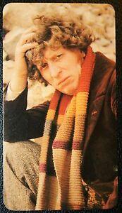 Tom Baker   Dr Who   Superb Original 1970's Colour Photo Card # Excellent