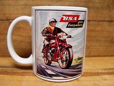 300ml COFFEE MUG, BSA MOTORCYCLES - GOES EVERYWHERE
